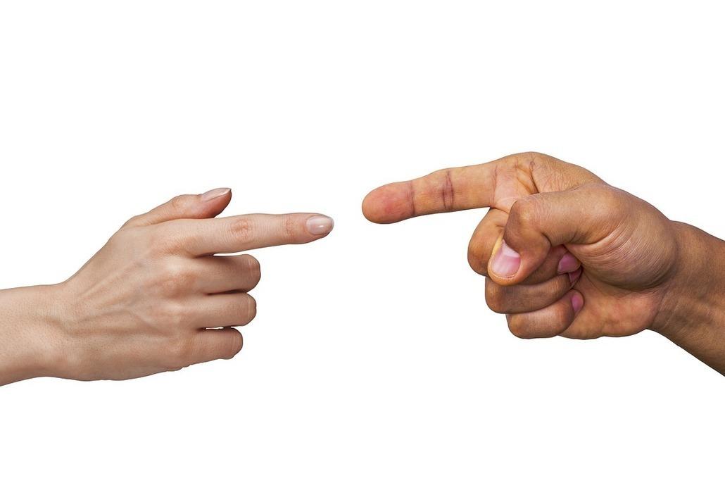 Upiranje prstom