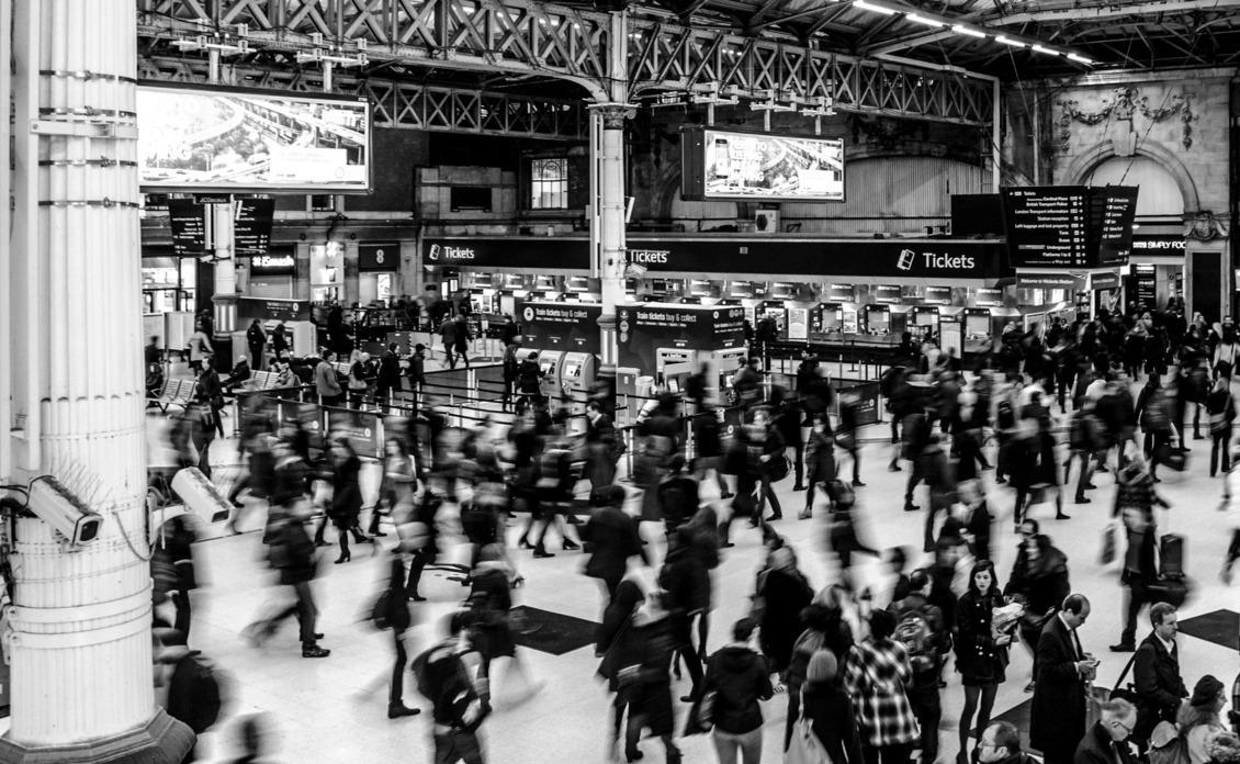 Ljudi na stanici