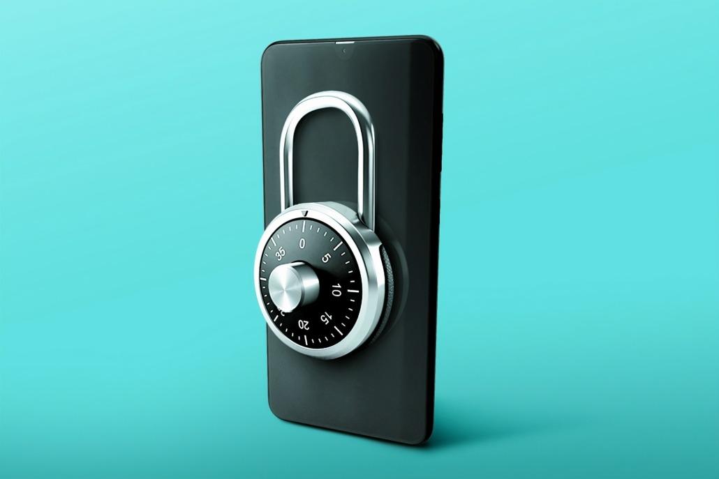 password phone